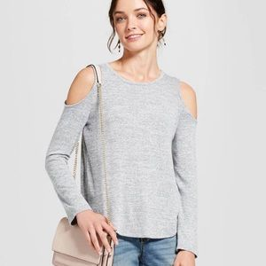 Target A New Day Open Shoulder Sweater Top